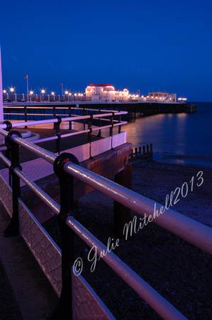 Worthing Pier by Night