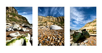 Hastings Beach Triptych